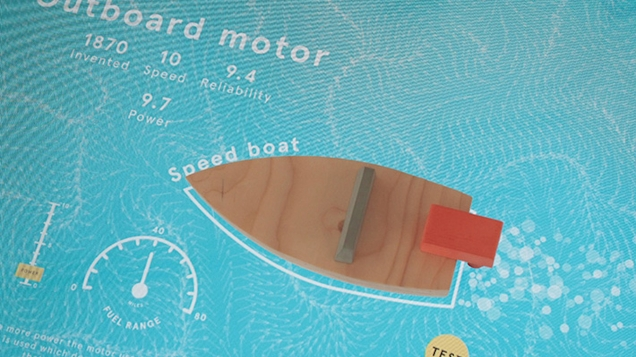 Interactive Objects Speed Boat