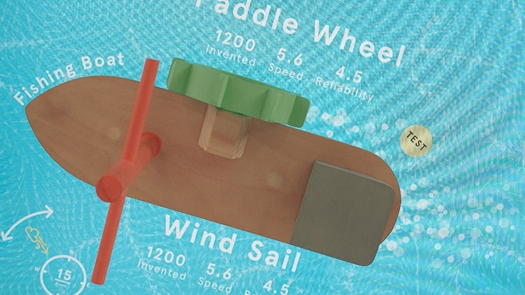 Interactive Objects Paddle Wheel