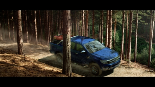 Ford Ranger in Forest