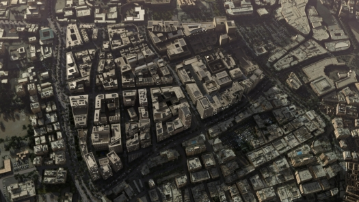 Msheireb Aerial View