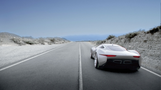 Jaguar C-X75 Rear
